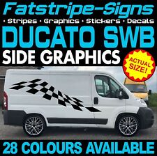 FIAT DUCATO L1 SWB GRAPHICS STICKERS STRIPES DECALS DAY VAN CAMPER MOTORHOME