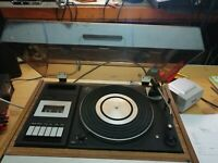Sanyo G2422KL Music centre record player, tuner, tape/cassette, turntable (445)