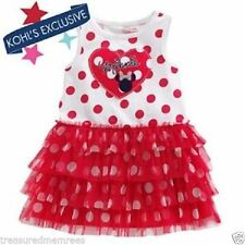 c2b723eee21 Disney Minnie Mouse Polka Dot Dress Pick Your Size With Tags 24 Months