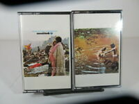 Woodstock Part 1 & 2 - Music From The Original Soundtrack Cassette Tapes  VG