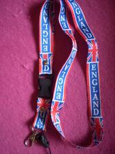 ENGLAND  Schlüssel + Handyband in BLAU/ROT/WEISS  mit Fahne Union Jack / NEU