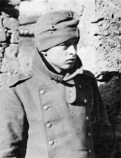WWII B&W Photo Young German Prisoner of War Italy 1944 World War Two WW2 / 2327