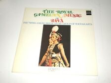 THE ROYAL GAMELAN MUSIC OF JAVA - 2 LP MADE IN JAPAN DENON RECORDS - INDONESIA -