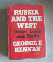 1961 First Edition Book Russia and the West under Lenin and Stalin by Kennan
