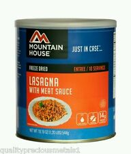 1 # 10 Can - Lasagna with Meat Sauce - Mountain House Emergency Food Supply