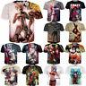 New Fashion Mens/Womens Sexy Harley Quinn Joker Funny 3D Print Casual T-Shirt