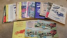 MODEL T FORD Vintage Buyers & other Documents Receipts Magazines Brochures etc