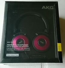 Casque audio AKG K 619 DJ-On-Ear Microphone Micro Rose Facture