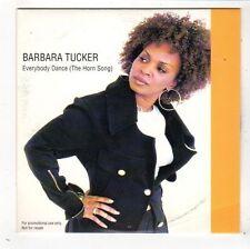 (FY370) Barbara Tucker, Everybody Dance (The Horn Song) - 1998 DJ CD