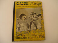 Ringling Brothers Barnum & Bailey Circus Holiday Vintage Book Clown Photo 1942