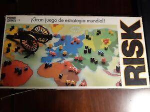 RISK VINTAGE PARKER JUEGO ESTRATEGIA 1984