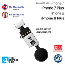 NEW iPhone 8 Universal Home Button Replacement NO Bluetooth Required BLACK