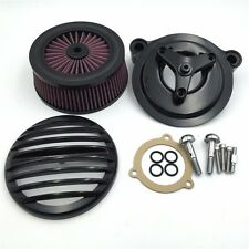 Black Grille Air Cleaner Kit For Ultra Limited/Freewheeler/Electra Glide Classic