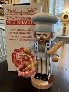 Steinbach Nutcracker Chubby Breadbaker Baker Handmade From Germany Original Box