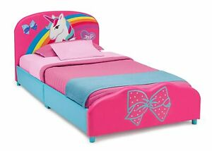 Twin Bed For Girls Pink Unicorn Bed For Toddlers Cama Para Niñas Rosa Unicorno