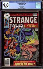 Strange Tales # 186 CGC 9.0 White (Marvel, 1976) 30-cent price variant Rare!
