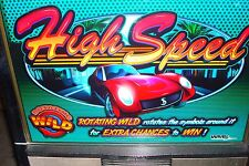HIGH SPEED  VIDEO SLOT MACHINE BY WILLIAMS COINLESS  CASINO FUN FOR YOUR HOME