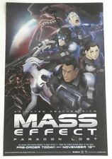 MASS EFFECT -  11x17 Original Video Game/Movie Poster MINT Comic Con SDCC 2012