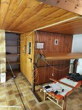KLAFS Sauna gebraucht, guter Zustand, SELBSTABBAU Türseite 2.20m