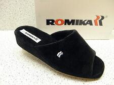 Romika ® reduziert Hausschuhe schwarz Frottee  Paris (536)