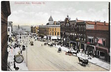 Postcard Columbus Avenue in Sandusky, Ohio~105538