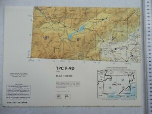 Tactical Pilotage Chart TPC F-9D China Large Scale Map