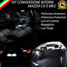 KIT LED INTERNI MAZDA CX-5 CX 5 MK2 KIT DI CONVERSIONE COMPLETA + LUCI TARGA