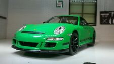 G LGB 1:24 Scale Porsche 911 Green GT3 RS (997) Detailed Welly Diecast Model Car