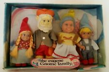 NOS The Eugene Gnome Family Complete Set in Box 70630 Papa Momma Sister Brother