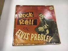 "ELVIS PRESLEY 7"" SPANISH EL ROCK AND ROLL DE   ULTRA RARE SINGLE SEE PICTURES"