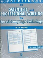 A Coursebook on Scientific & Professional Writing for Speech-Language Pathology