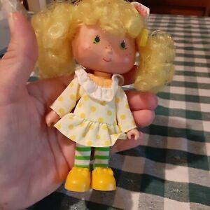 Vintage American Greetings Lemon Meringue Doll 1979 From Strawberry Shortcake
