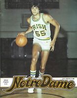 02-27-1980 NOTRE DAME v. DePAUL UNIVERSITY COLLEGE BASKETBALL PROGRAM