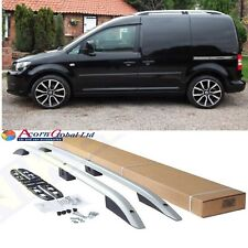 VW CADDY Aluminium Roof Bars - Roof Rails Set SILVER 2004-2010 OLD SHAPE
