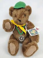 "1992 Vermont Teddy Bear Co 16"" Jointed Plush Teddy Bear Camping Boy Scouts Scout"