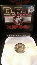 D.R.I. Dirty Rotten Imbeciles - Greatest Hits Vinyl Lp Violent Pacification PUNK