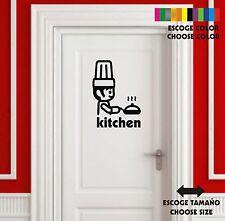 Sticker Vinilo - Cocina - Kitchen-Cuisin-Wall Art Decal Vinyl-Pegatina Playmobil