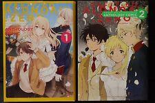 JAPAN Aldnoah.Zero Anthology Comic 1+2 Set (manga book)