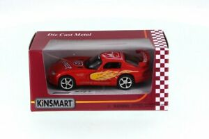 Dodge Viper Race Car #03, Red - Kinsmart 5039FWR - 1/36 Scale Diecast Toy Car