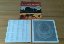 Magnum Wings Of Heaven 1988 Dutch LP Inner & Insert Ex/Ex+ Classic Prog Rock