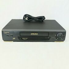 New listing Panasonic Ag-1330P Vhs Vcr Video Cassette Recorder Player W Remote & Power Cord