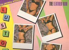 THE LEATHER NUN disco LP 33 giri LUST GAMES 1986 made in UK