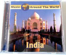 MUSIC AROUND THE WORLD - INDIA - CD Neuf (A1)