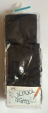 3 Pack Pairs Navy Blue School Winter Cotton Rich Warm Tights 3-4 Years Fast Post