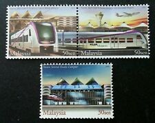 Express Rail Link Malaysia 2002 Transport Train Locomotive Vehicle (stamp) MNH