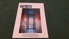 July 1988 FIAT WORLD MAGAZINE ISSUE 16 BROCHURE TIPO PANDA 4x4 DUCATO MOTORHOME