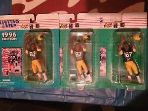 Robert Brooks 1996 Starting lineup Slu figures Green Bay Packers NEW