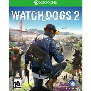 Watch Dogs 2 Xbox One Great Condition Complete Fast Shipping