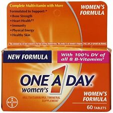 2 Pack - One-A-Day Womens Multivitamin, 60 Each