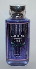 NEW BATH & BODY WORKS COCKTAIL DRESS SHOWER GEL WASH 10 OZ LARGE PEONIES MUSK